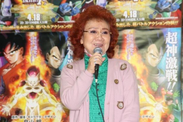 声優の野沢雅子 声優の野沢雅子 映画 ももクロ、野沢雅子と「ドラゴンボール一家」に! ... も