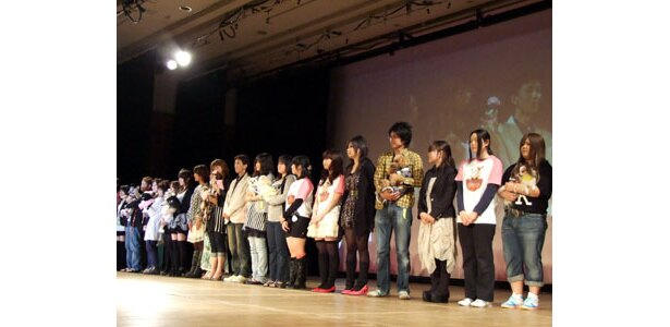 """NAGOYA DOGS COLLECTION 2009""フィナーレの様子"