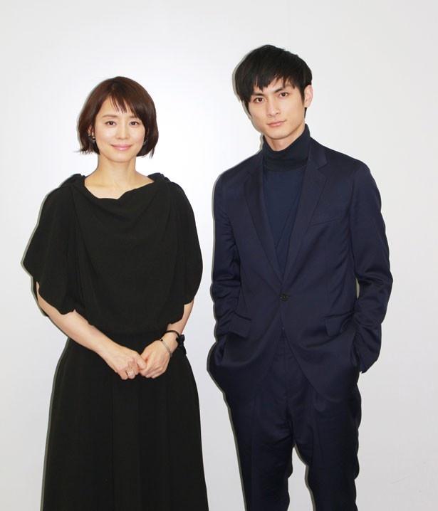 「撮影は楽しかった」と振り返る高良健吾と石田ゆり子