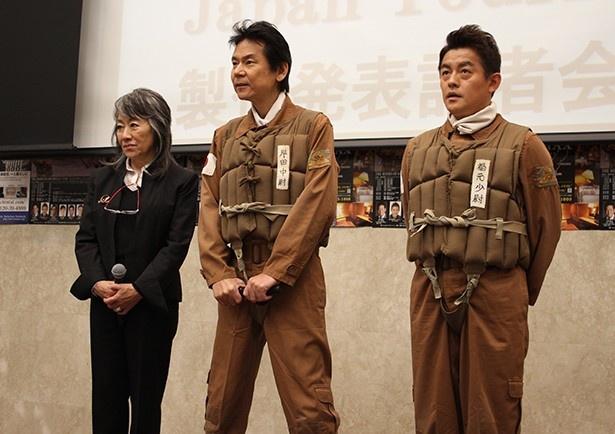 前回に続きキンタ役を演じる井戸田潤(写真右)は「必ず皆さんの心にグッとく... 前回に続きキンタ