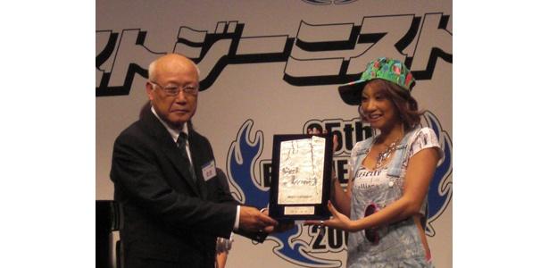 倖田來未さんも無事受賞