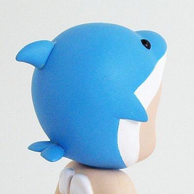 イルカの頭部(キュート!)