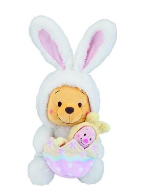 【写真を見る】くまのプーさんとピグレットが、ウサギのコスチュームに身を包んだ「ぬいぐるみ」(税抜3000円)