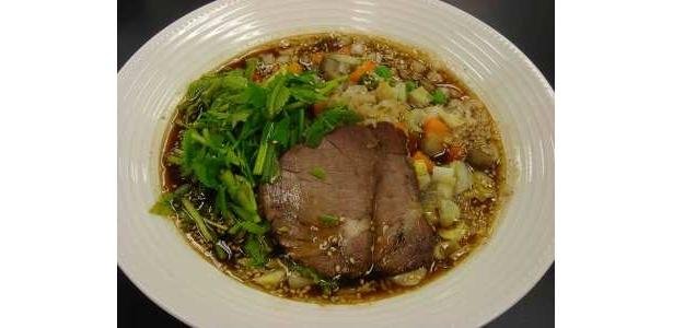 トゥーランドットのピリ辛スープご飯980円