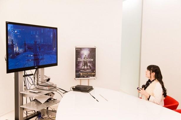 3月27日に発売されるPS4用ソフト「Bloodborne」に、ゲーム好き声優の竹達彩奈が挑む!