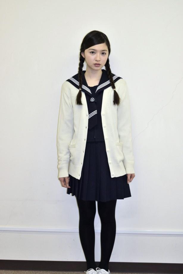 「セカンド・ラブ」で女子生徒・河瀬まど香を演じる上西星来(東京パフォーマンスドール)