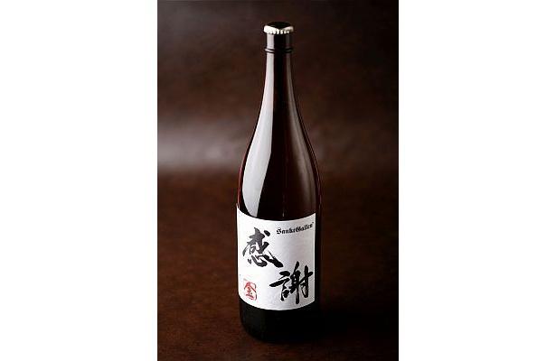 日本酒と見間違えそうなビジュアルも面白い