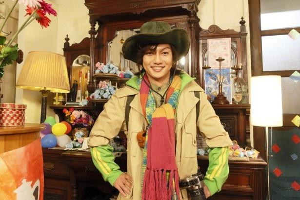 ミコの父親役・雫石ケーゴを演じる喜矢武豊