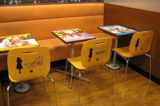 座席はひとつひとつが特別仕様。どの席に座ろうか、悩んでしまいそう