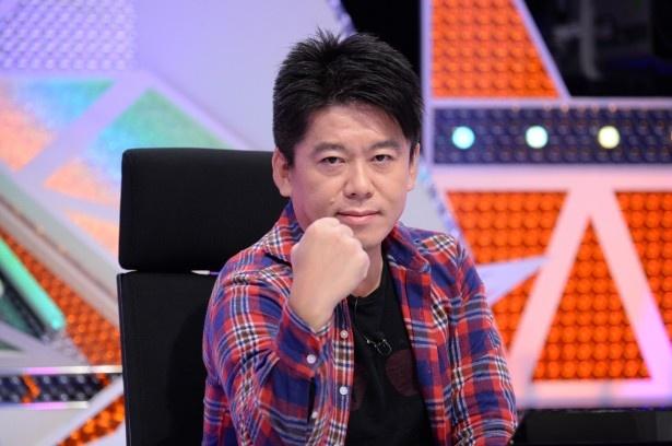 再びメディアの前に帰ってきた堀江貴文氏が「THE博学」で知のチャンピオンを目指す!
