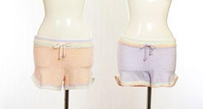 スムージーモコショートパンツはおそろいで着てもOK(3990円)/ジェラートピケ