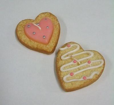 火をつけるのがもったいない!?ハートクッキーキャンドル(945円)/キスミス インマイルーム