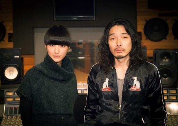 シシド・カフカが斉藤和義と初コラボし、4月9日(木)スタートのドラマ「医師たちの恋愛事情」(フジ系)の主題歌を担当する