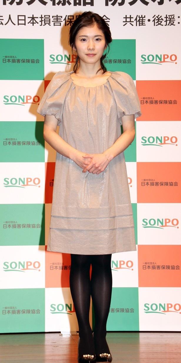 モデルの松岡茉優