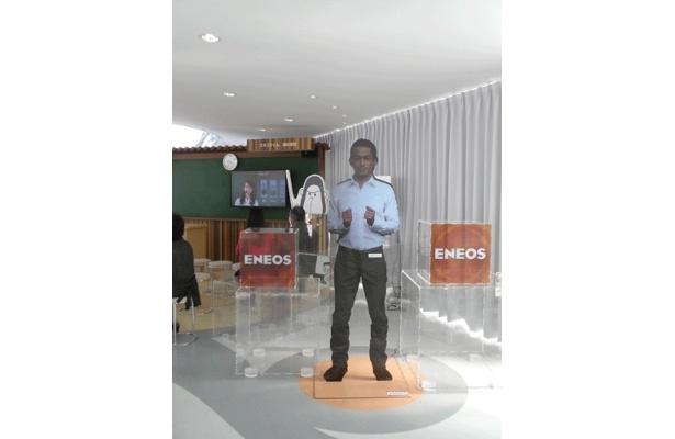 「ENEOS 未来のエネルギー館」ではイチロー選手がお待ちかね