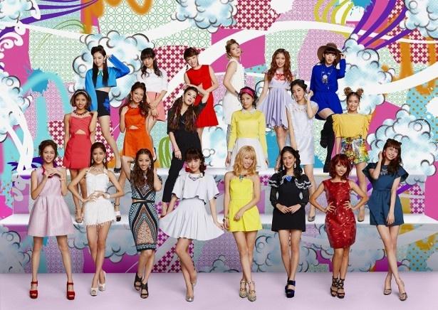 テレビ東京新バラエティー「E-girlsを真面目に考える会議」に出演するE-girlsのメンバー