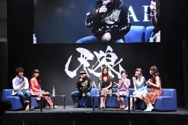 「AnimeJapan 2015」にて行われた『牙狼<GARO>』ステージの様子