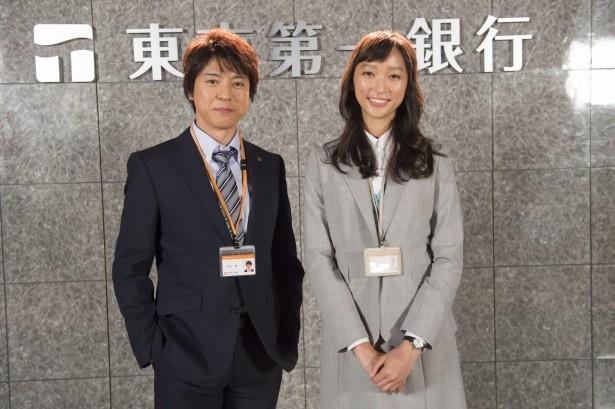 7月より「花咲舞が黙ってない」新シーズンの放送が決定!(写真左から上川隆也、主演の杏)