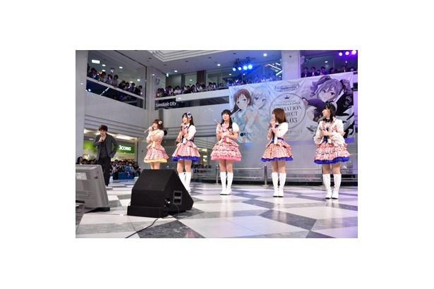 「アイドルマスター」総合ディレクターの石原章弘が「第4回 シンデレラガール総選挙」の開催を発表するとファンからはどよめきが