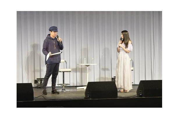 トークパートは杉田の軽妙なペースで進行。会場はもちろん、ステージのパートナーである茅原の笑いも絶えなかった