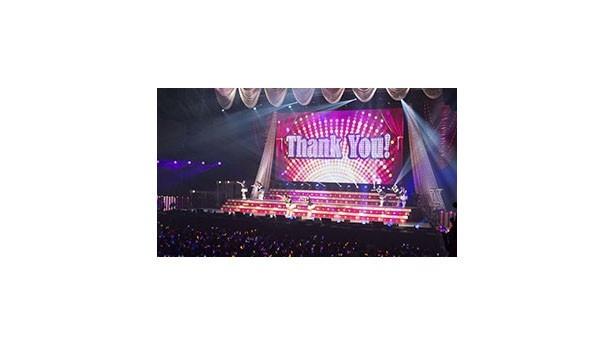 【写真を見る】ライブは出演者全員で歌う「Thank You!」で幕を開けた