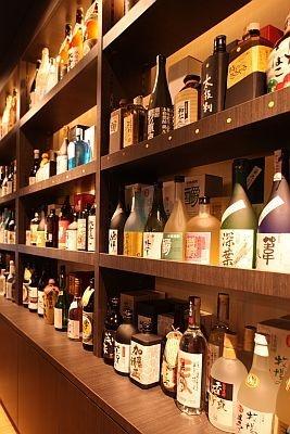 熊本自慢の焼酎がほぼ全ての銘柄で揃う