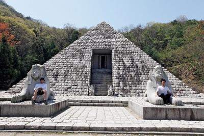 エジプトのピラミッドが!?