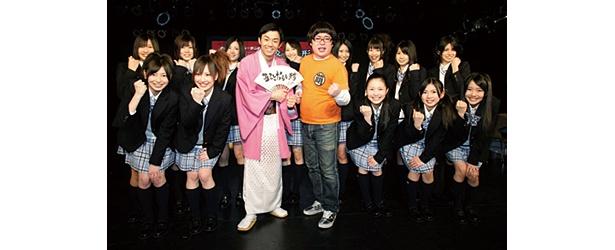エロ詩吟でおなじみの天津とSKE48のメンバーがサポーターに