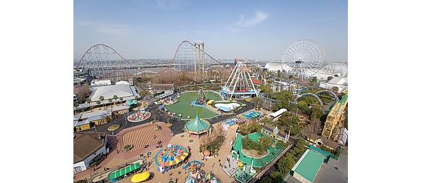 約7000平方メートルの広さを誇る巨大遊園地だ