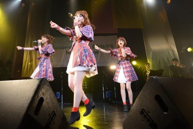 赤坂ブリッツでの単独ライブを大盛況で終えたNegicco