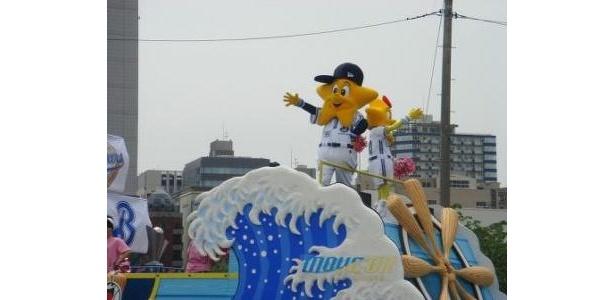 ザよこはまパレードに登場したホッシー