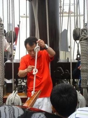 ロープワーク教室で役に立つロープの結び方を学ぼう