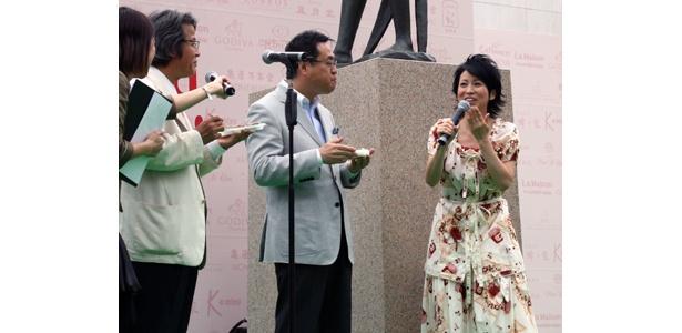 西村知美特製「スイーツ・カレー」に目黒区長らも大満足!?