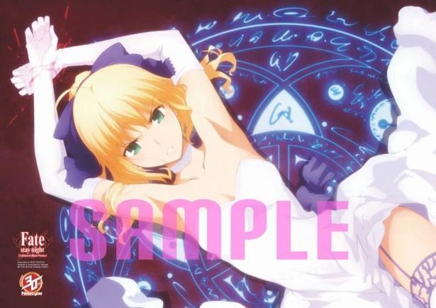 【1】Fate/stay night 10色刷り額装イラスト ufotableバージョン
