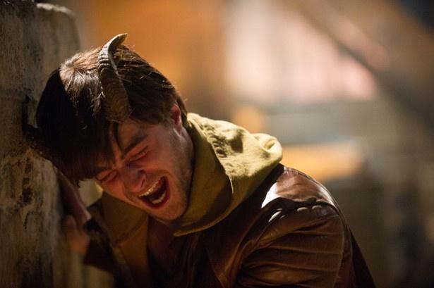 『ホーンズ 容疑者と告白の角』でトリッキーなキャラクターを演じたダニエル・ラドクリフ