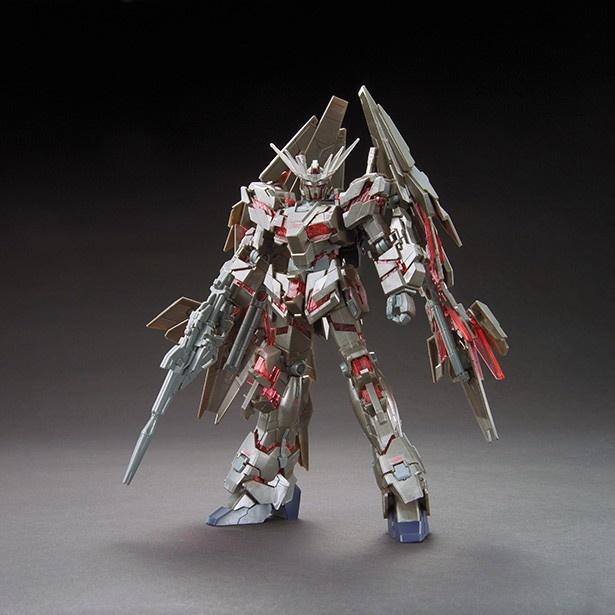 ガンダムフロント東京で限定発売されるユニコーンガンダム3号機「フェネクス」