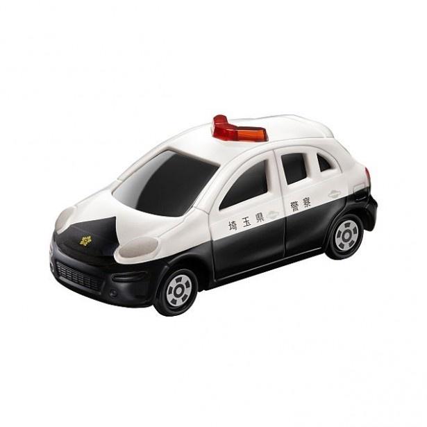 【写真を見る】サスペンションが付いた「日産  マーチ パトロールカー」