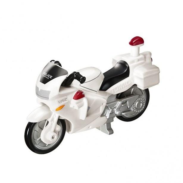 ハンドルとタイヤが連動して動く「Honda VFR 白バイ」