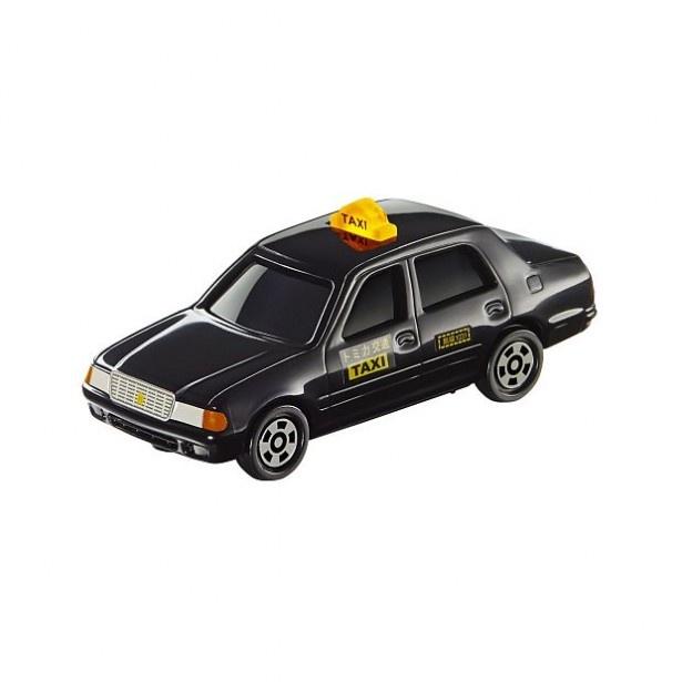 タクシーの表示灯が光る「トヨタ クラウン コンフォート タクシー」