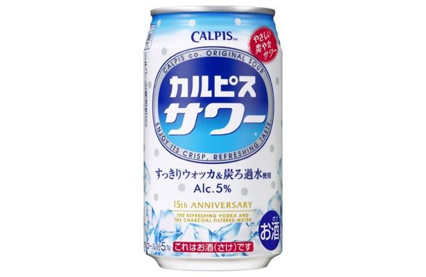 「カルピスサワー」は、ただの「カルピス」のウォッカ割りではなく、「カルピス」を蒸留させて作るミルクスピリッツが加えられており、一味違う!