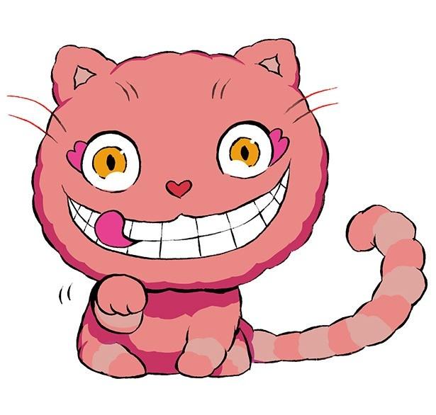 ホラーで奇妙な有名キャラクター「笑い猫」が登場する