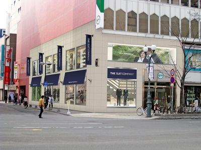 ザ・スーツカンパニーがオープンしたら、こんな風になる予定