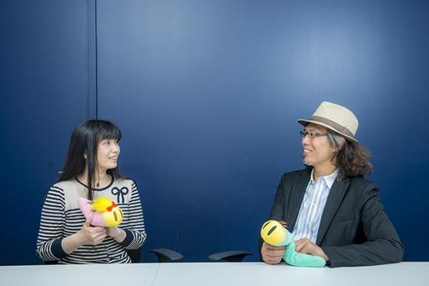 伊藤監督と川村万梨阿の対談は、慣れ親しんだ様子で和やかに進んだ