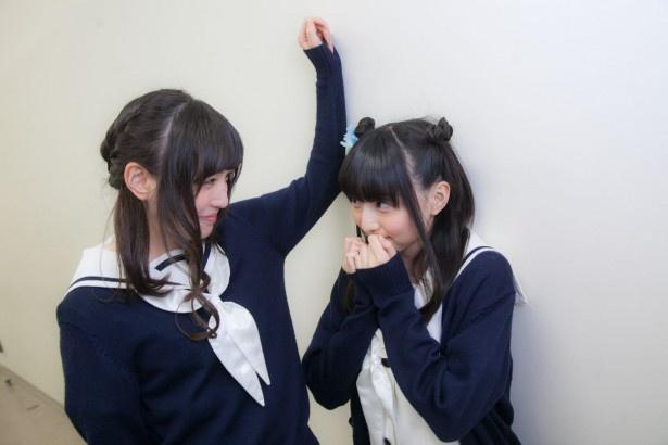一番手はハナ・N・フォンテーンスタンド役の田中美海さん。が、上田さんが先に田中さんに壁ドンしてしまい……?
