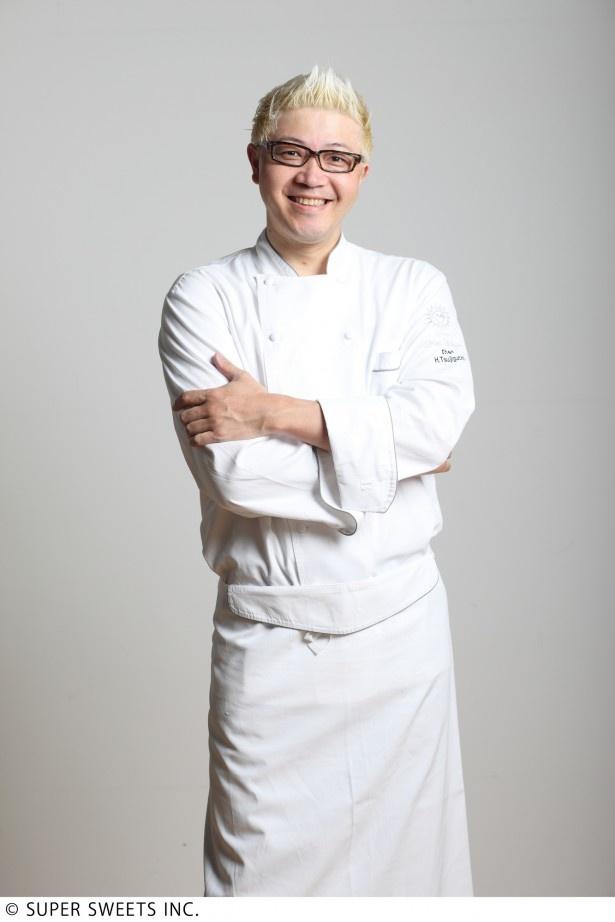 「まれ」の製菓指導を務める辻口博啓氏