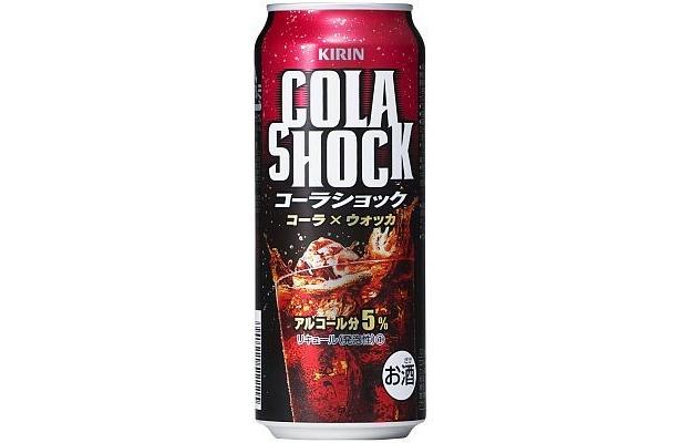 500ml缶の画像。実はコーラ飲用者は夜500mlほどを飲む人が多いという