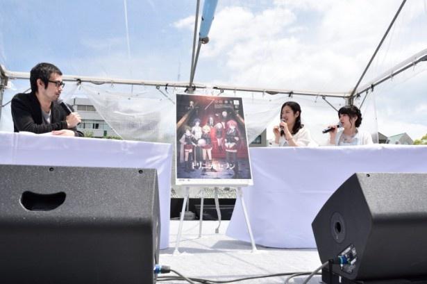 ライブも披露される「魔導祭」では、原が愛するL'Arc〜en〜Cielのhydeばりの煽りをすると諏訪が宣言!?