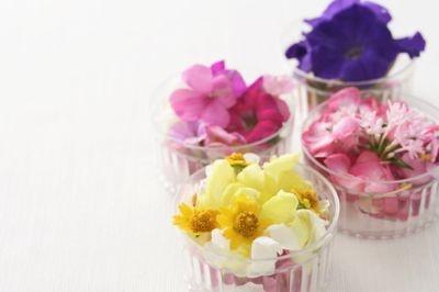 花は季節によって異なるそう。どれが来るかも楽しみだ