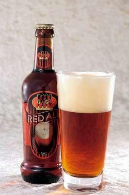 トルコのタップスレッドエールビール