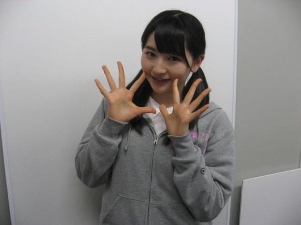 「モーニング娘。'15」の12期メンバー、尾形春水(16歳)